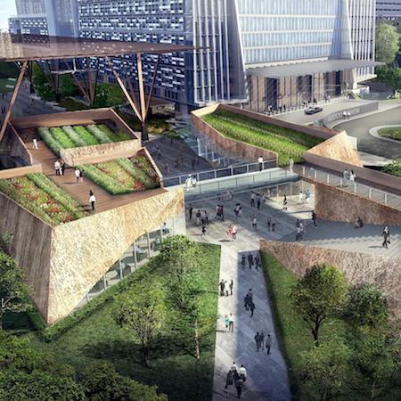gktpc - An artist's impression of the Urban Park.##########x##########GUOCOLAND SINGAPORE