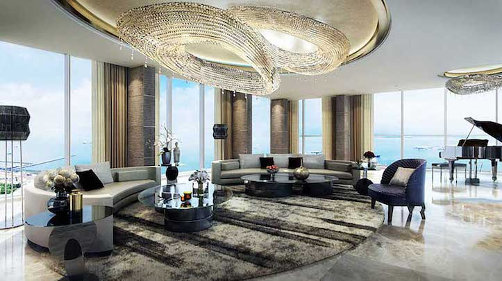 62nd Level- Family Lounge Room