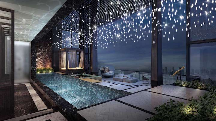 64th Floor- Rooftop Terrace with Jacuzzi